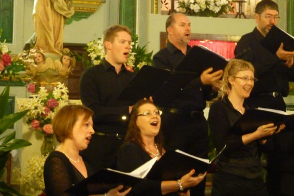Our concert in the small church up in the Alpujarra mountains