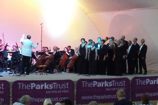 MK Proms in the Park 2013