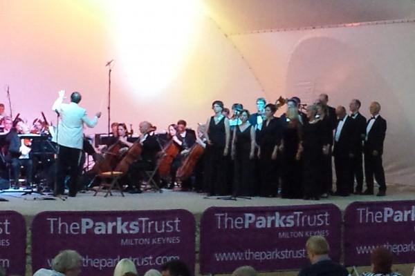 MK Proms in the Park 2013